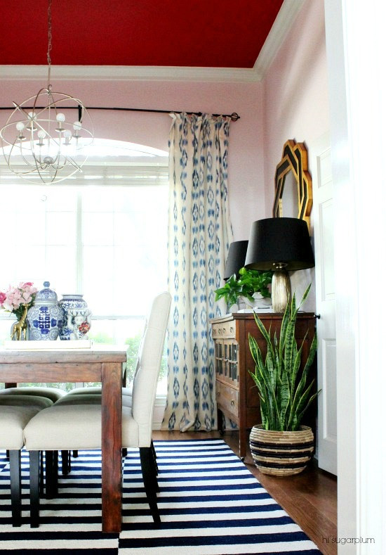 Hi Sugarplum | Dining Room Makeover
