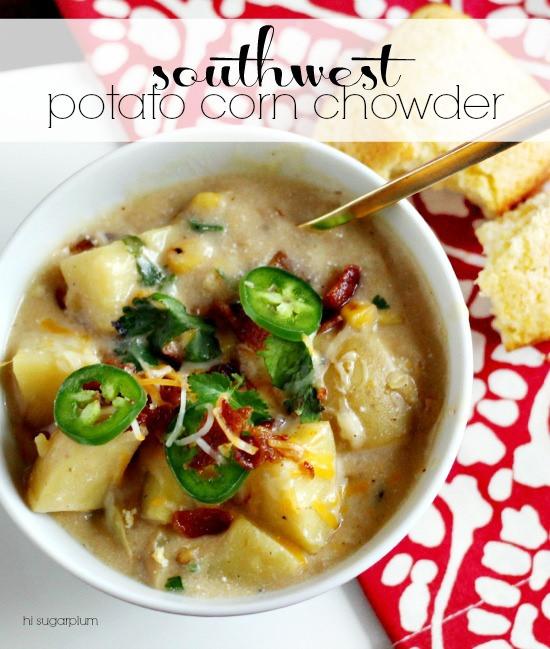 Southwest Potato Corn Chowder Hi Sugarplum