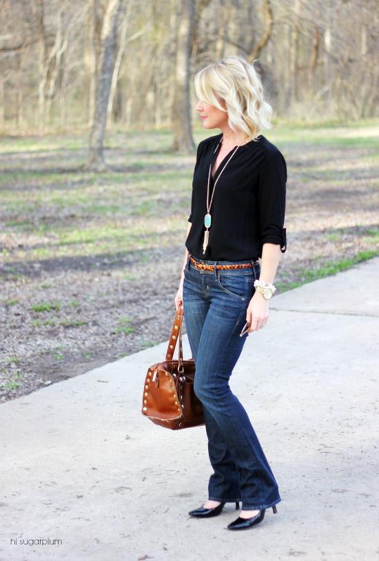 Hi Sugarplum | {3 Ways} to Wear Jeans to Work