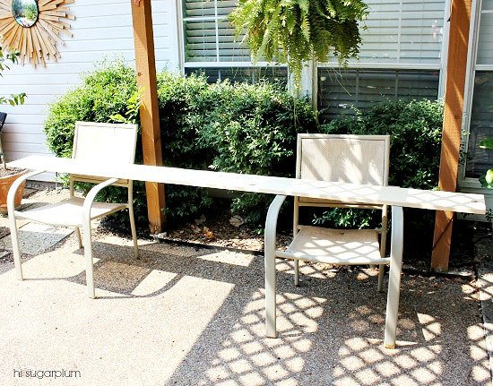 Hi Sugarplum   How to Build a Simple Console Table