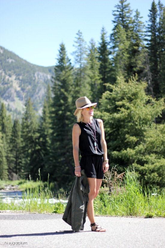 Hi Sugarplum | Romper in Montana