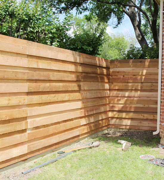 Awesome Build A Wood Fence Part   5: Awesome Build A Wood Fence Photo Gallery