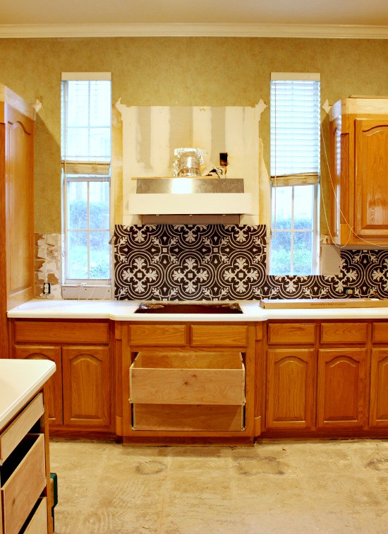 Kitchen Renovation In Progress before & after | the kitchen remodel breakdown | hi sugarplum!