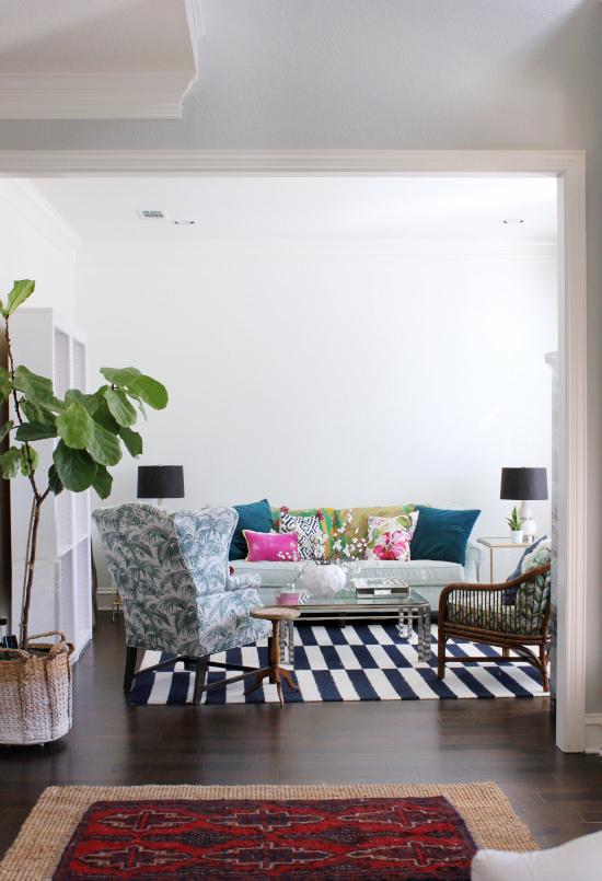 Hi Sugarplum | ORC Living Room before