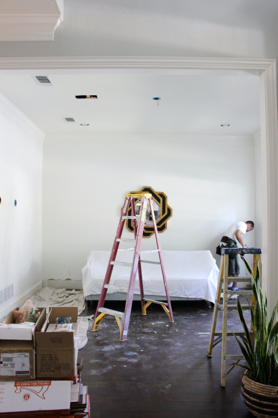 Hi Sugarplum | One Room Challenge