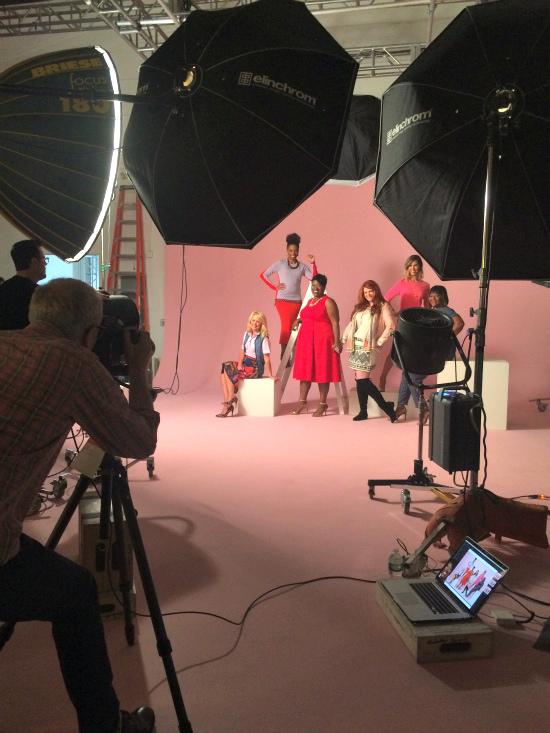 Hi Sugarplum | Behind the Scenes Redbook Real Women Real Style