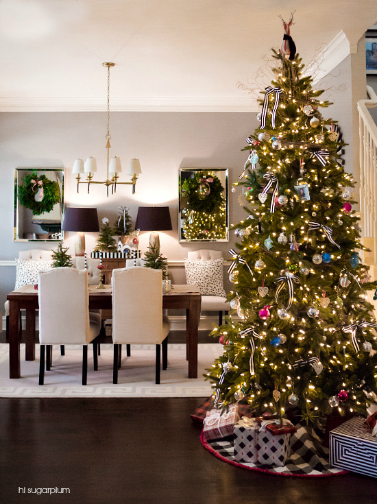 eat drink be merry our dining room this christmas hi sugarplum