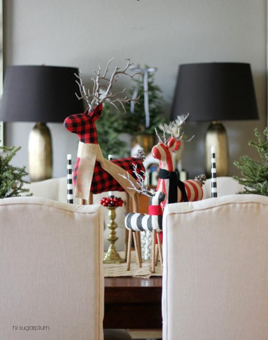 Hi Sugarplum | Christmas in the Dining Room
