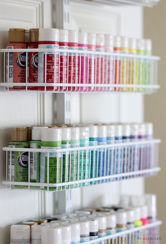 Hi Sugarplum   Organized Craft & Gift Wrap