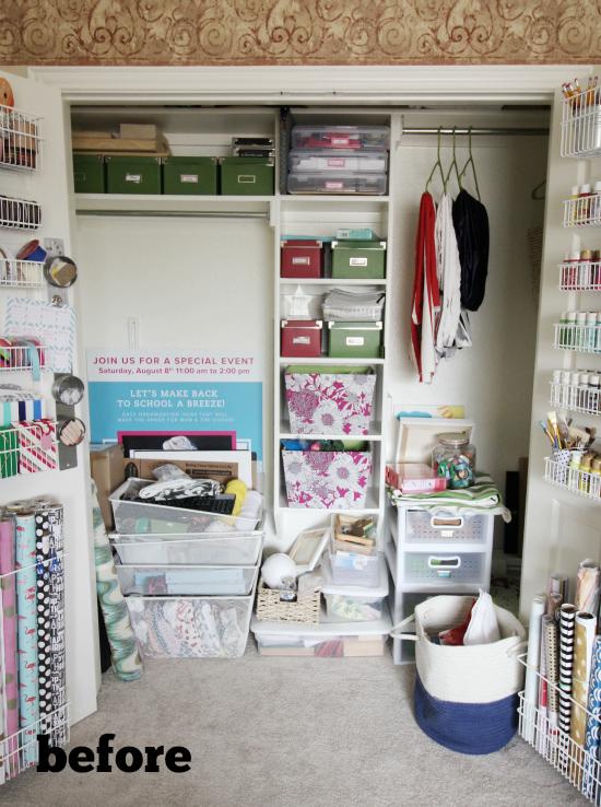 Hi Sugarplum   Craft Closet Makeover