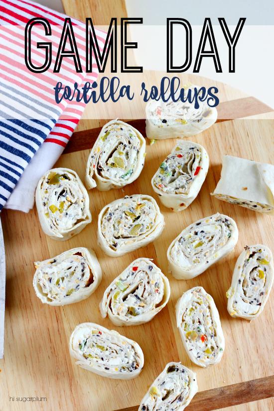 Hi Sugarplum | Recipe: Tortilla Rollups