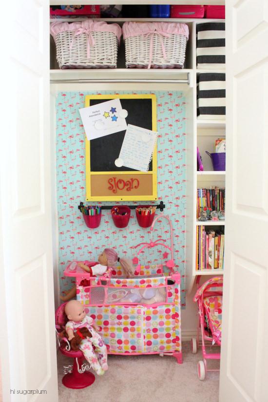 Hi Sugarplum | Organized Play Closet