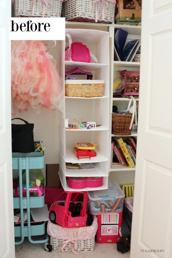 Hi Sugarplum | Organized Kids Closet