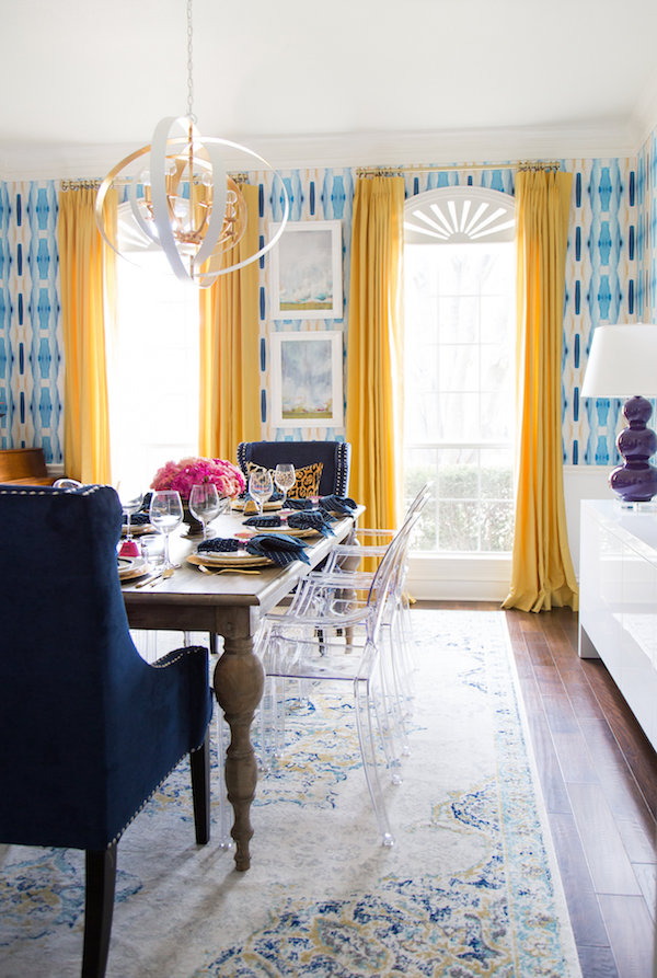 one room challenge | dining room breakdown & source list | hi