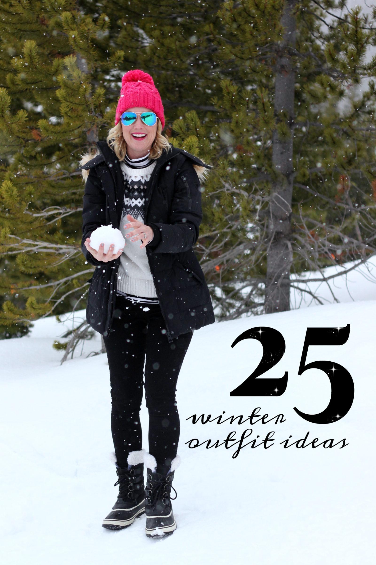 21 Winter Outfit Ideas  hi Sugarplum!