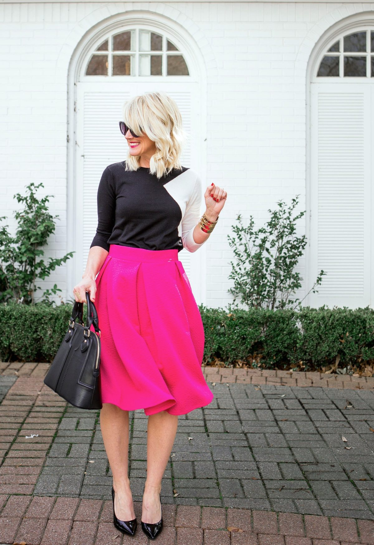 Winter Brights | Pink & Black