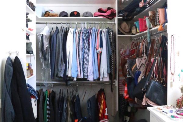 organize, closet, elfa,
