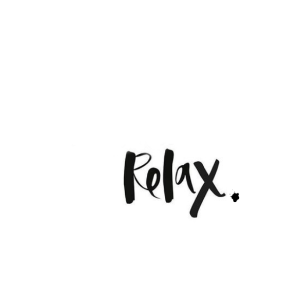 relax, resolutions, goals, 2017