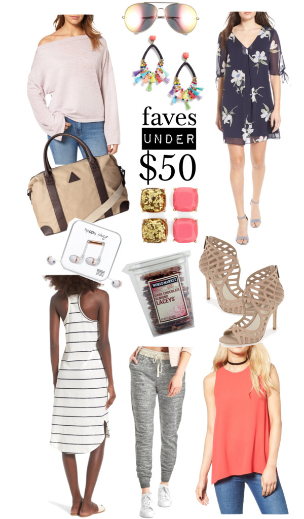 Faves Under $50 | #girlsweekend Edition