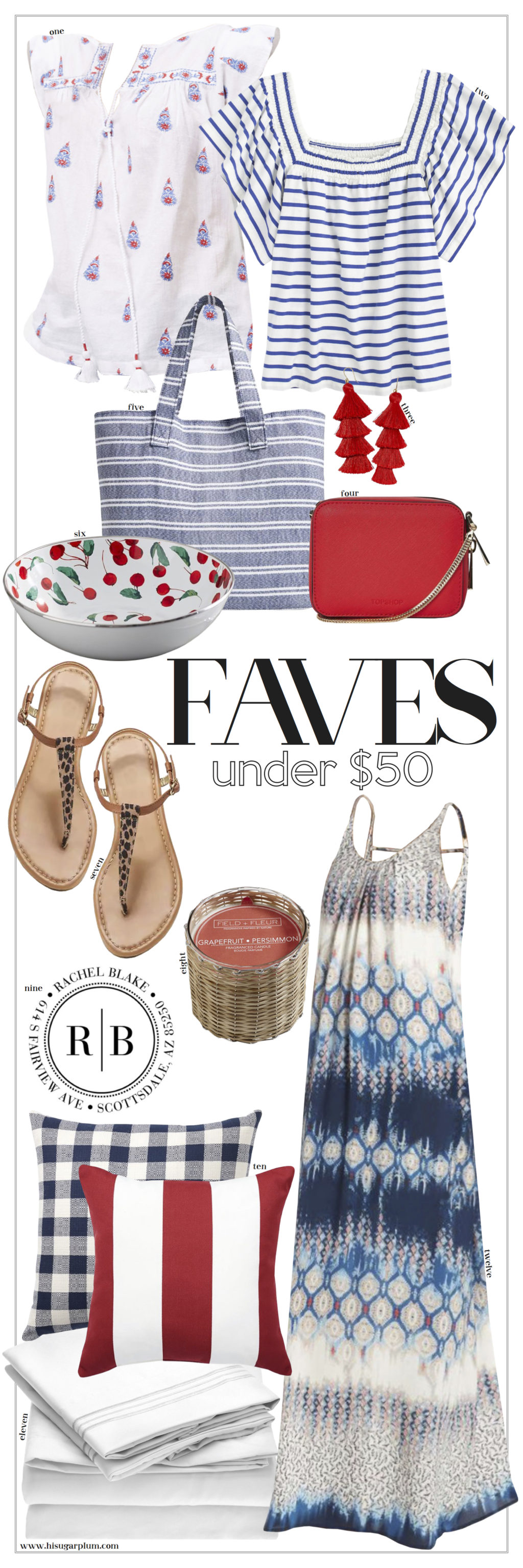 favorite finds under $50 fourth of july