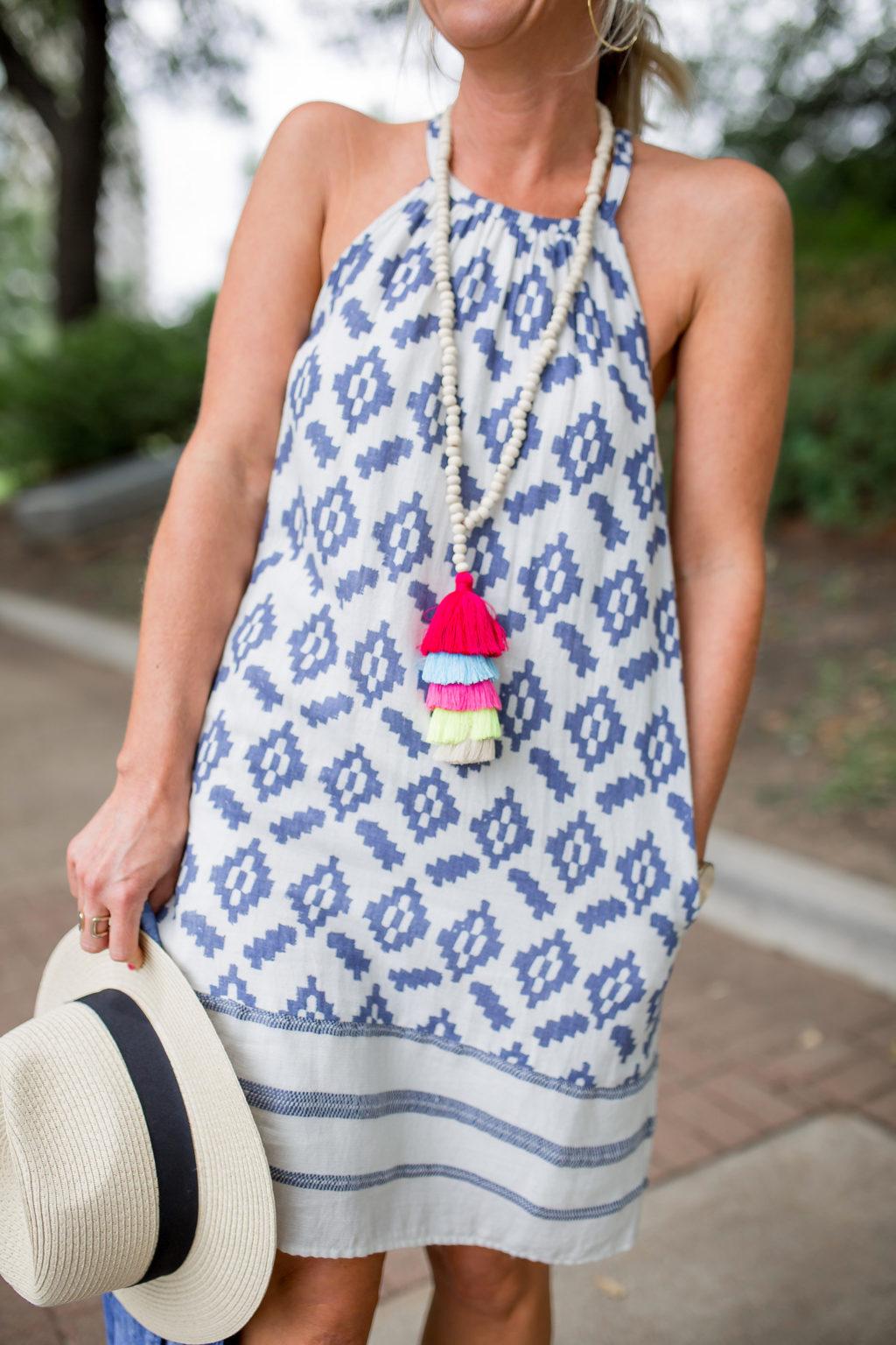 tassel necklace summer style