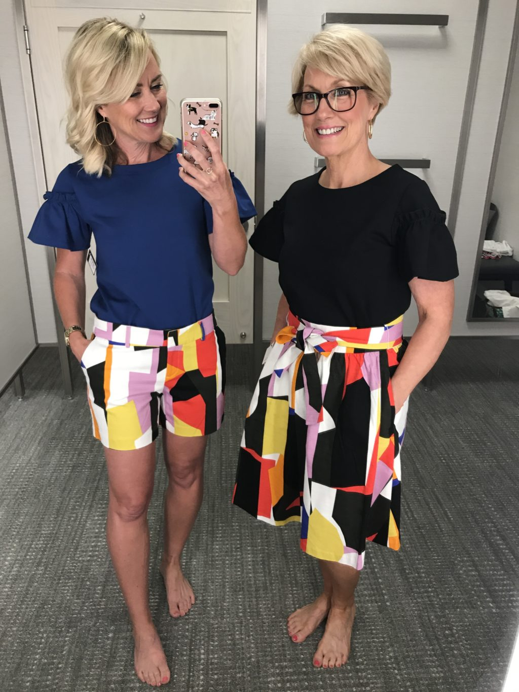 nordstrom graphic shorts skirts 2