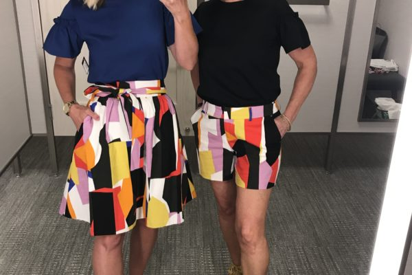 nordstrom graphic skirt shorts 2