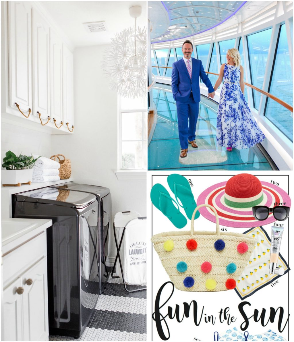 laundry room makeover cruise formal night summer essentials