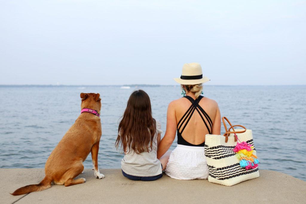day at the lake