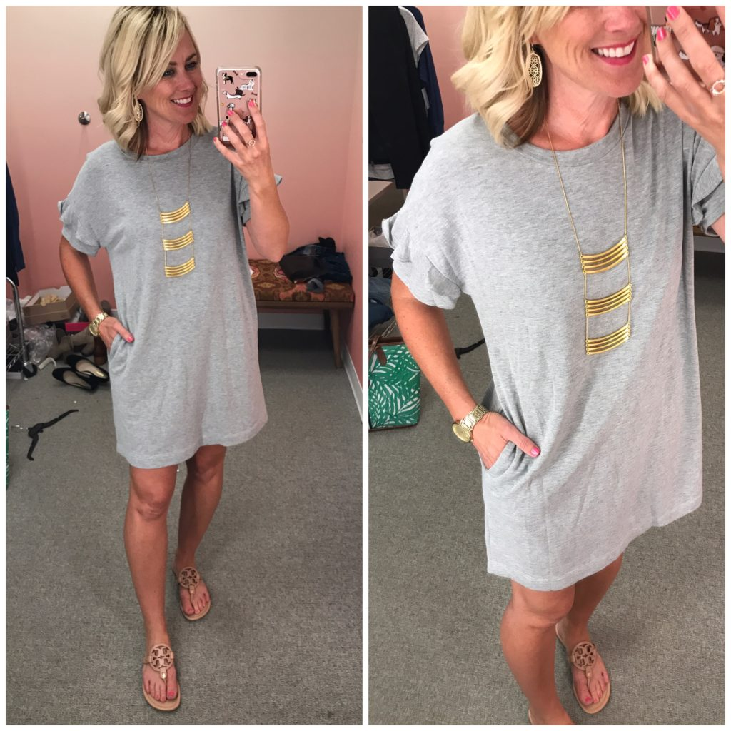 nordstrom anniversary sale leith tshirt dress
