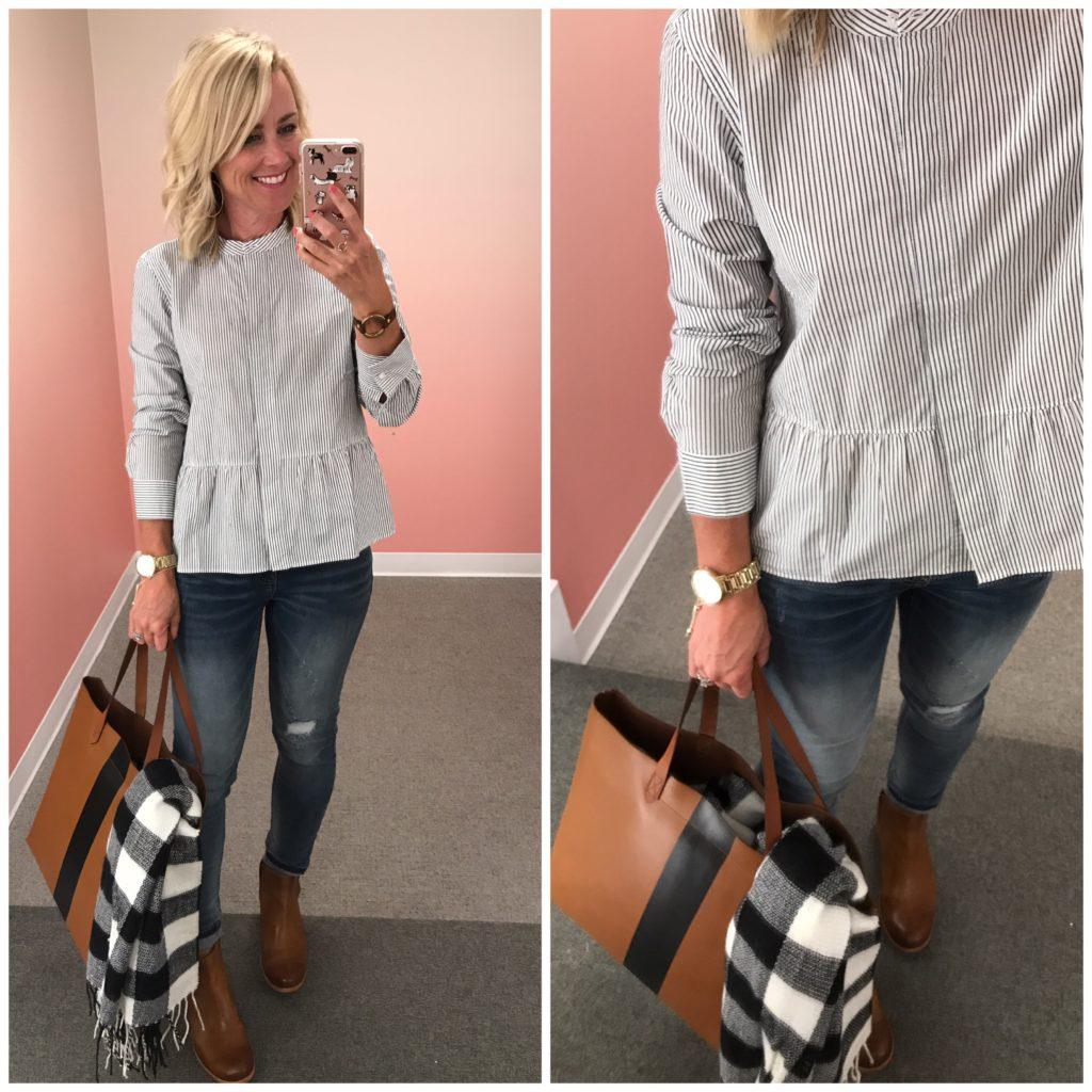 nordstrom anniversary sale madewell peplum shirt