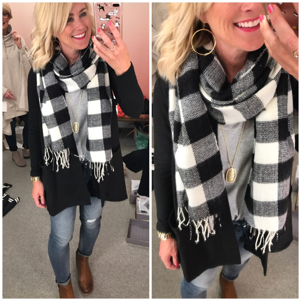 nordstrom anniversary sale plaid scarf