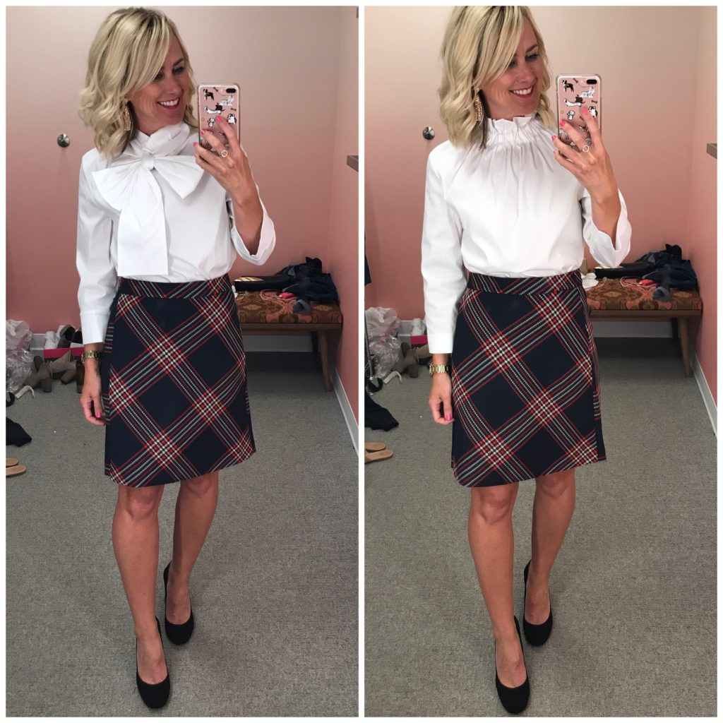nordstrom anniversary sale plaid skirt