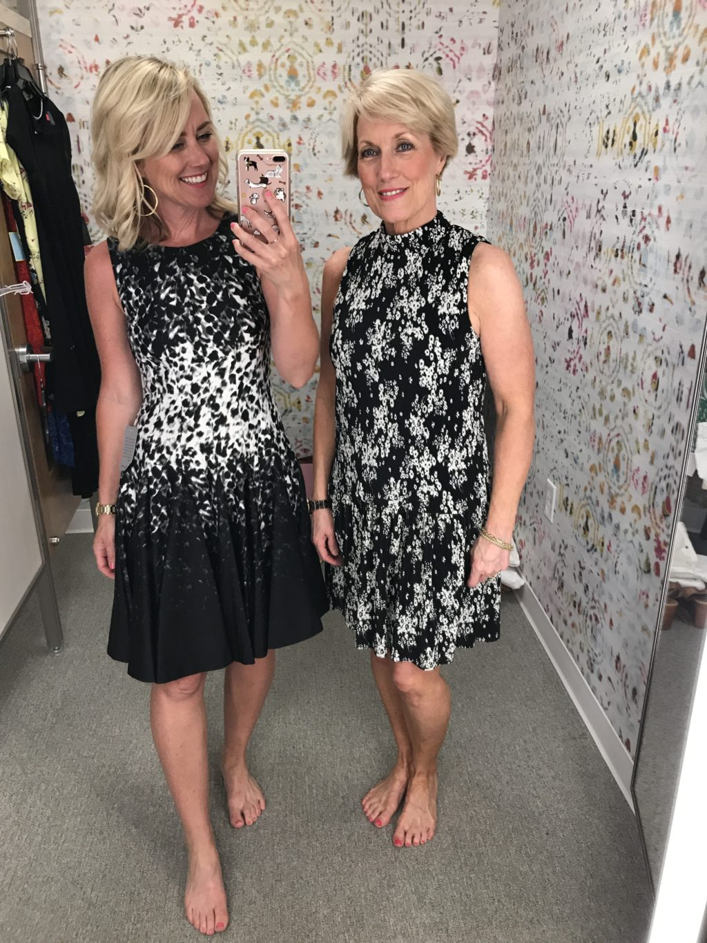 nordstrom black and white dresses