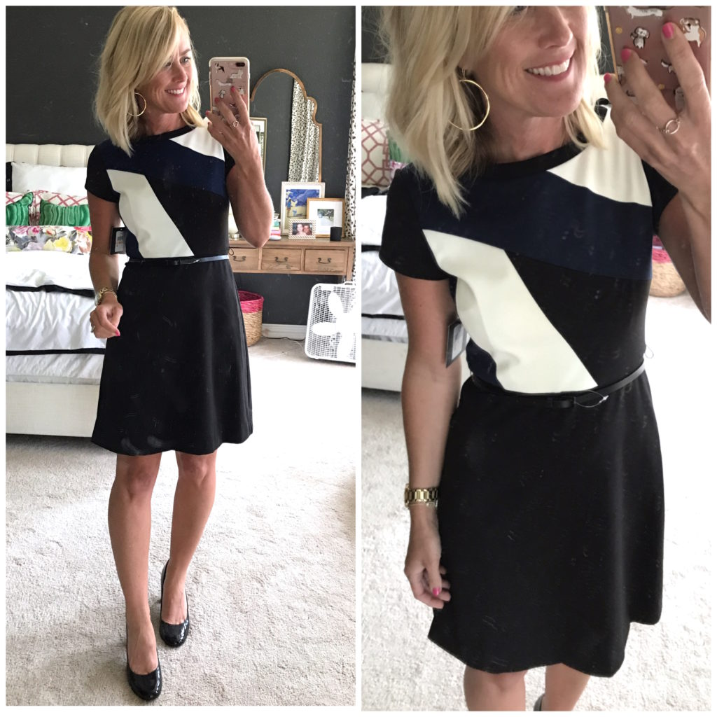 nordstrom colorblock dress