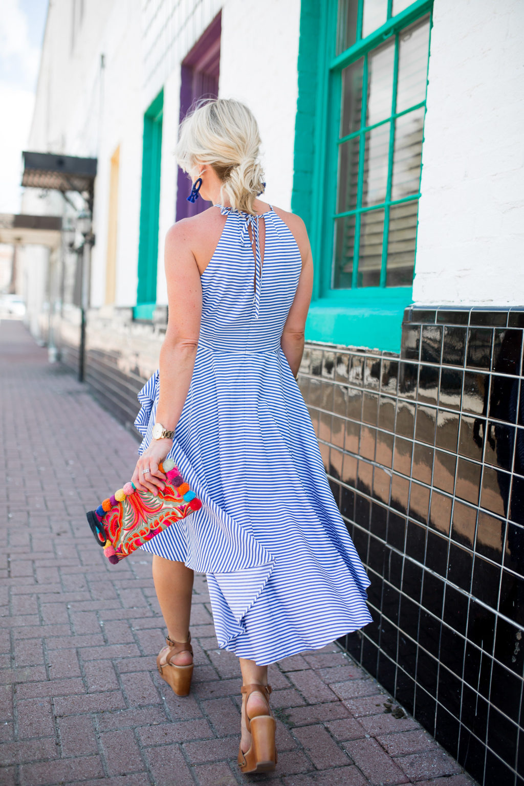 nordstrom striped halter dress-83