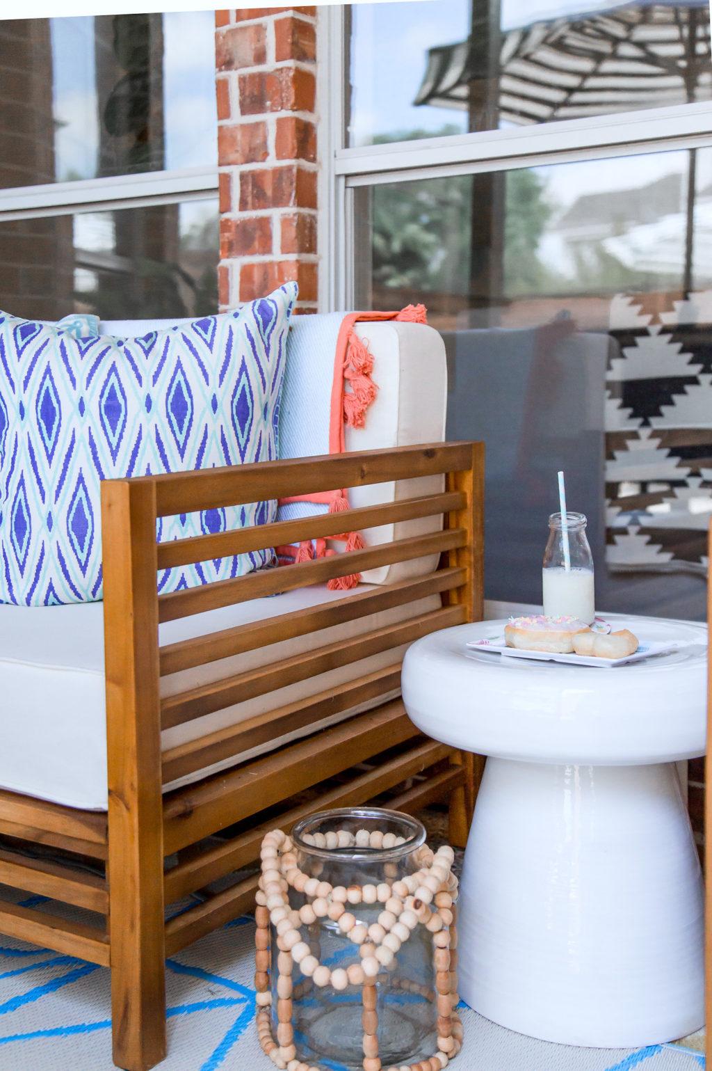 patio makeover homegoods