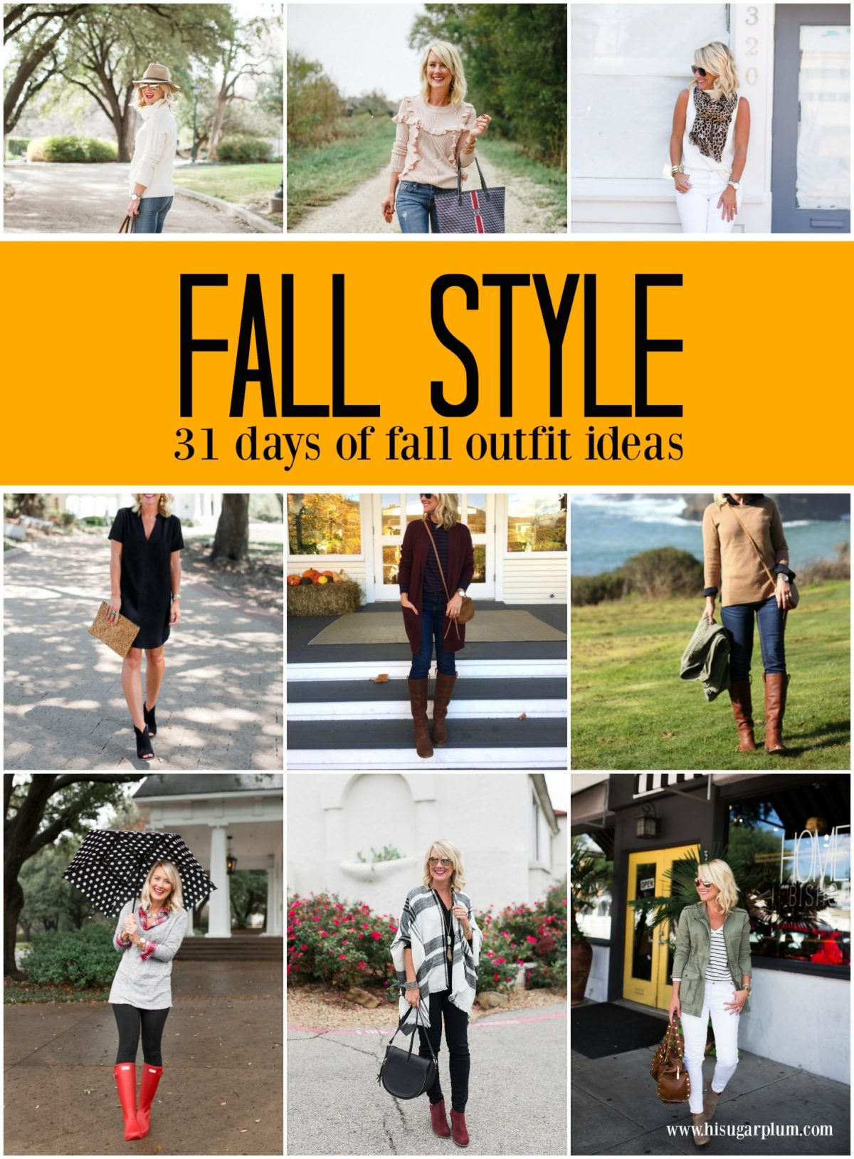31 Fall Outfit Ideas
