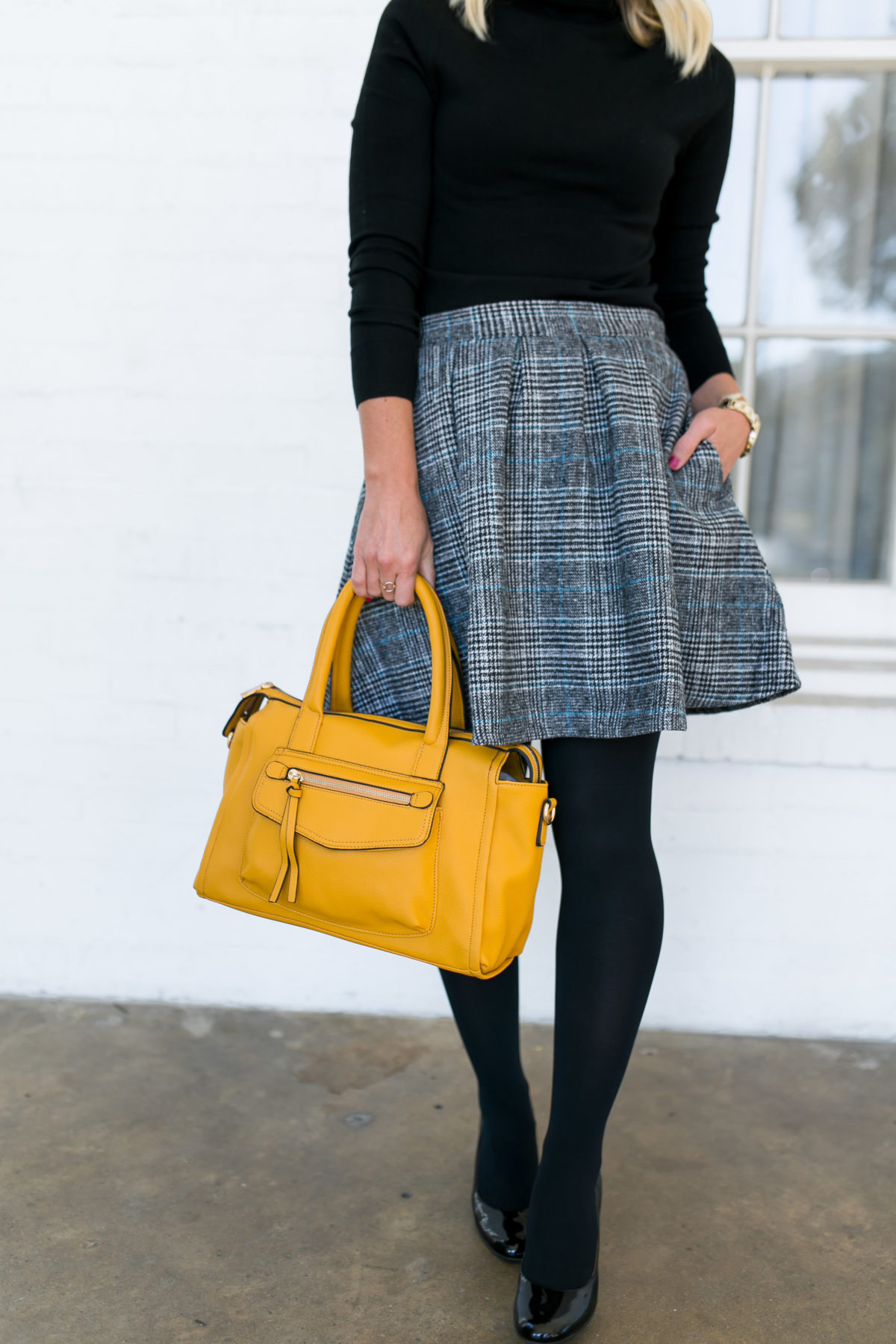 Now & Later   Plaid Skirt