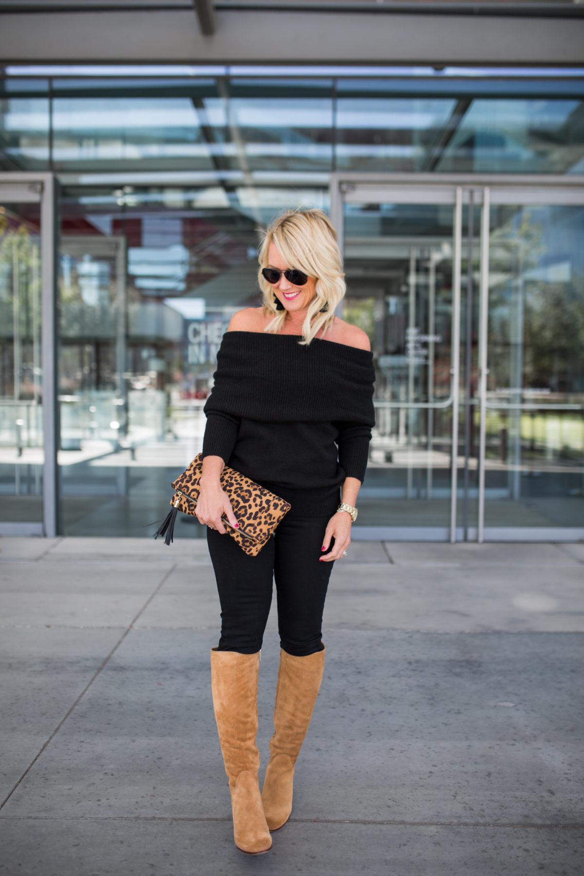 Black Jeans | Black on Black