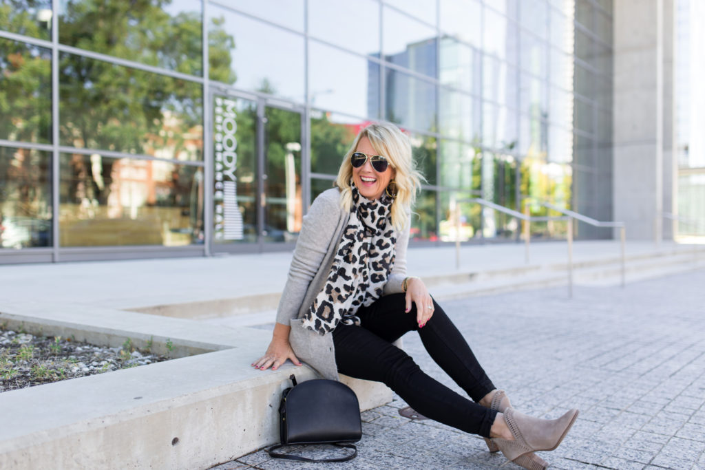 black jeans fall style