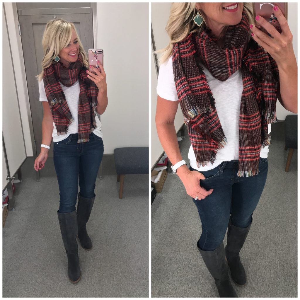 sole society checkered scarf nordstrom anniversary sale