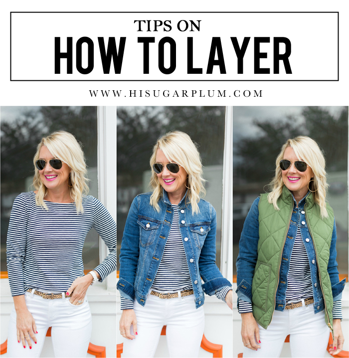 Tips on How to Layer